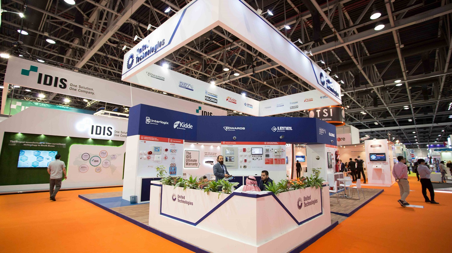 Stand Construction Paperworld Middle East