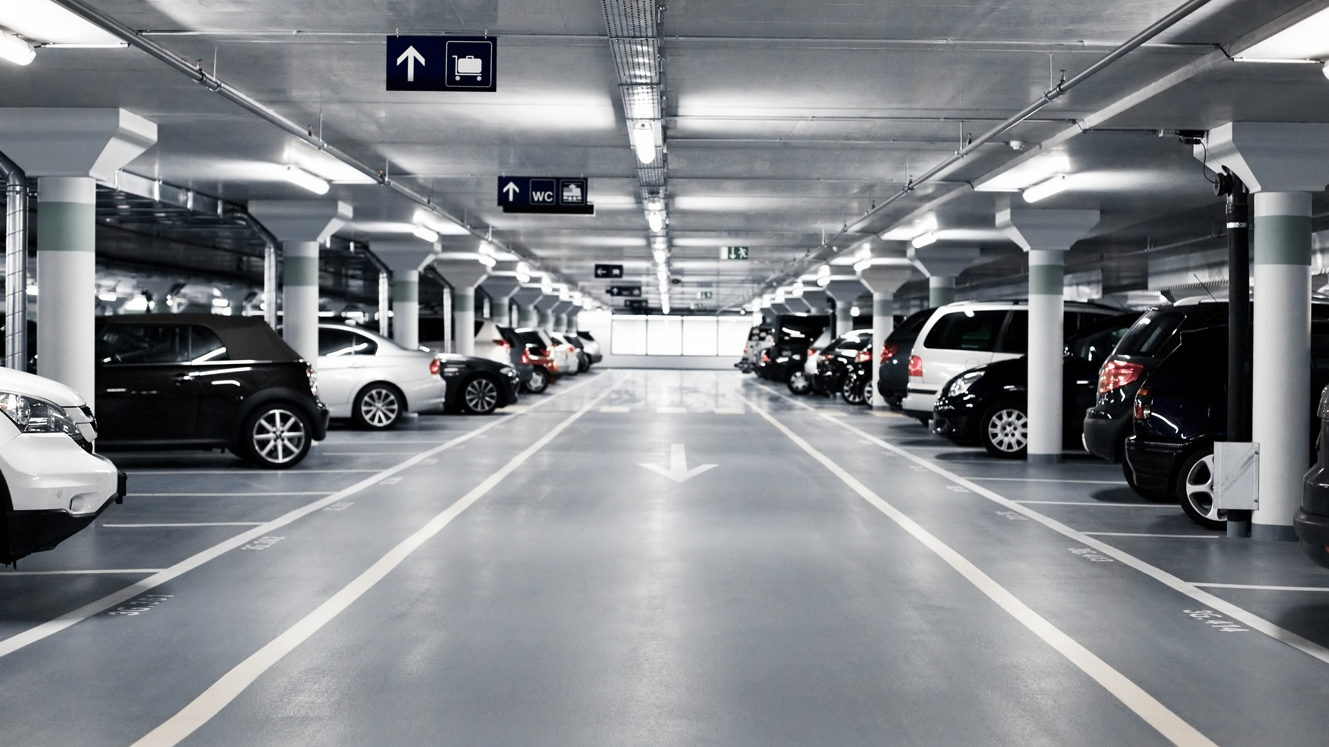 Parking Paperworld Middle East
