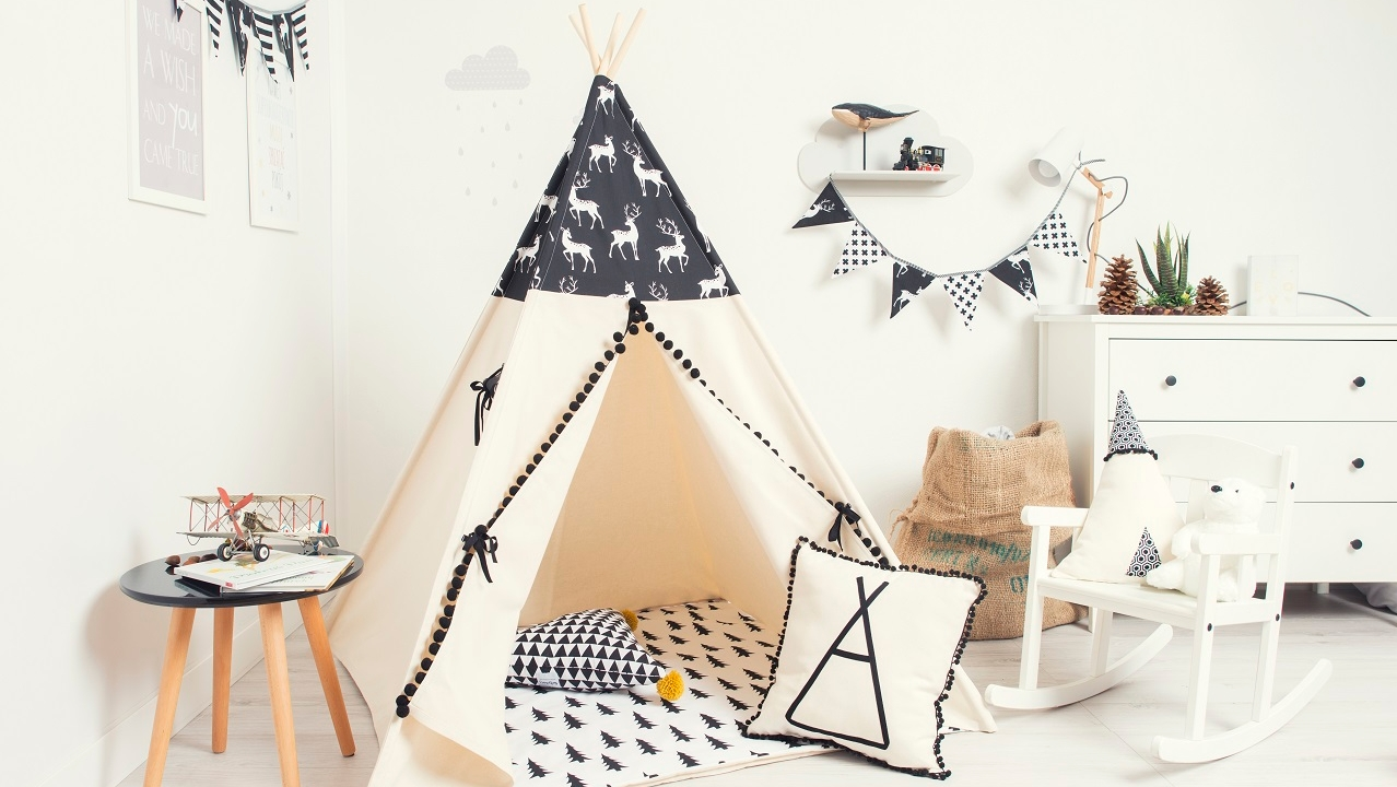 Paperworld Middle East Cozydots tent bedroom