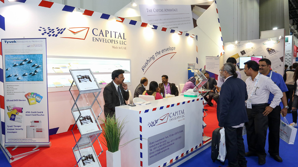 Capital Envelopes Paperworld Middle East