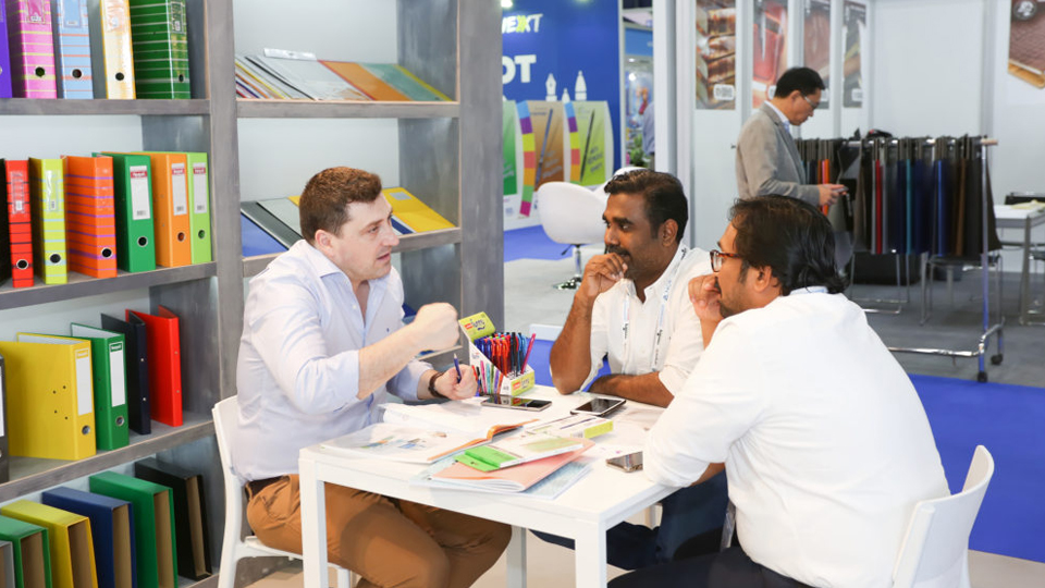 doing business at paperworld middle east