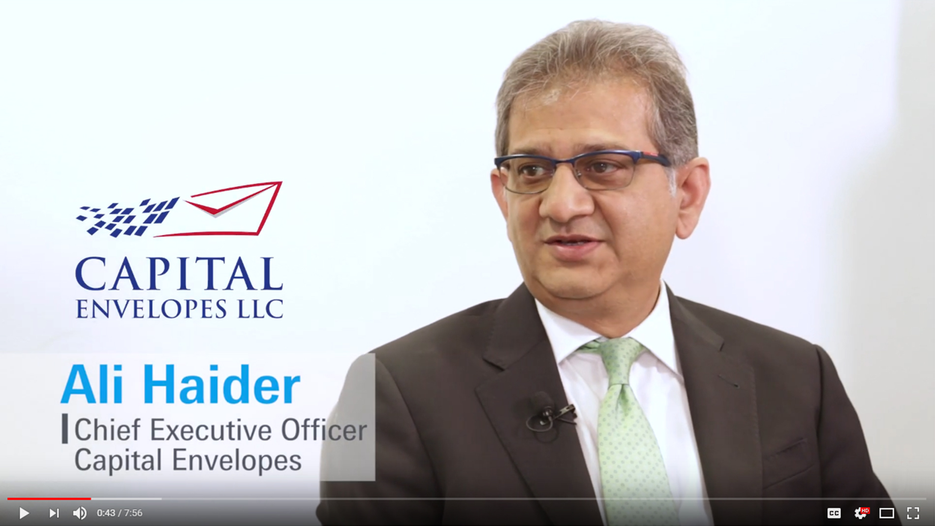 Paperworld Middle East - Capital Envelopes Interview