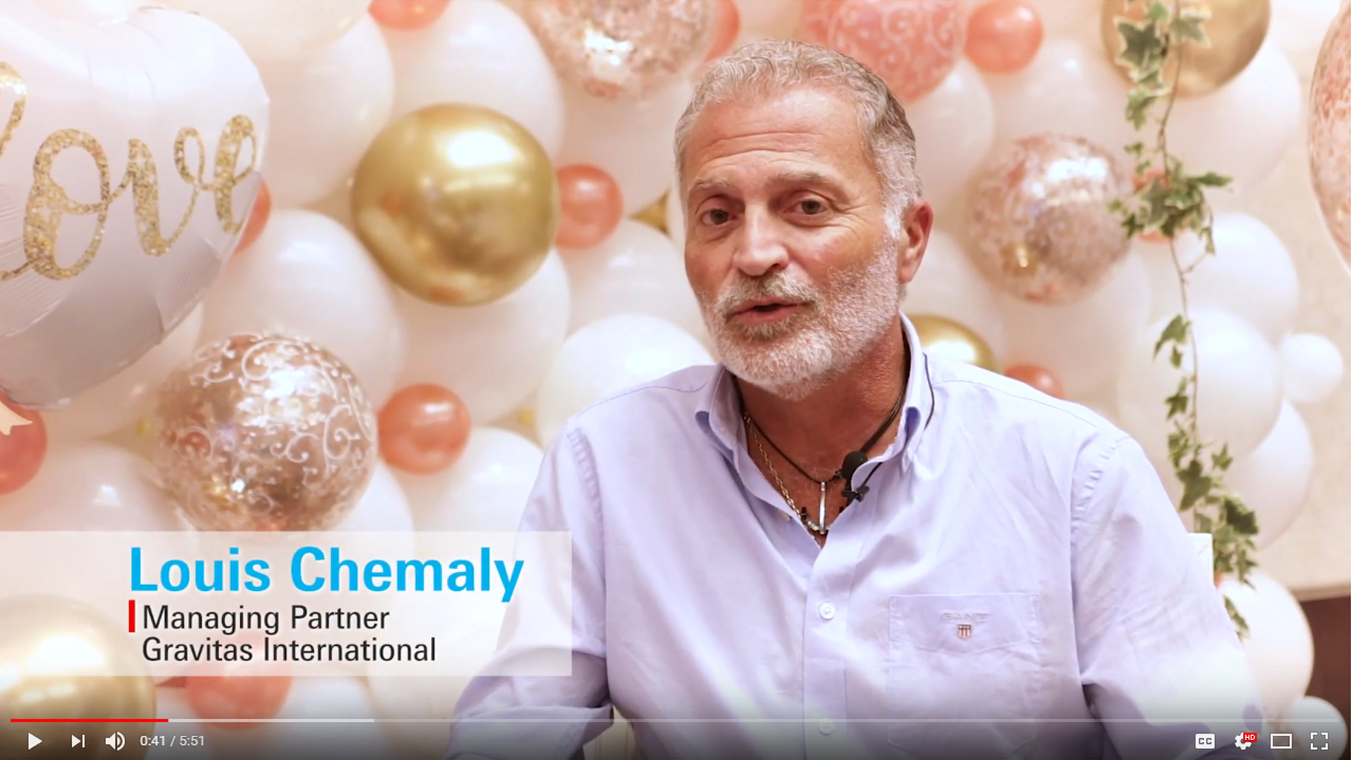 Paperworld Middle East - Louis Chemaly Interview
