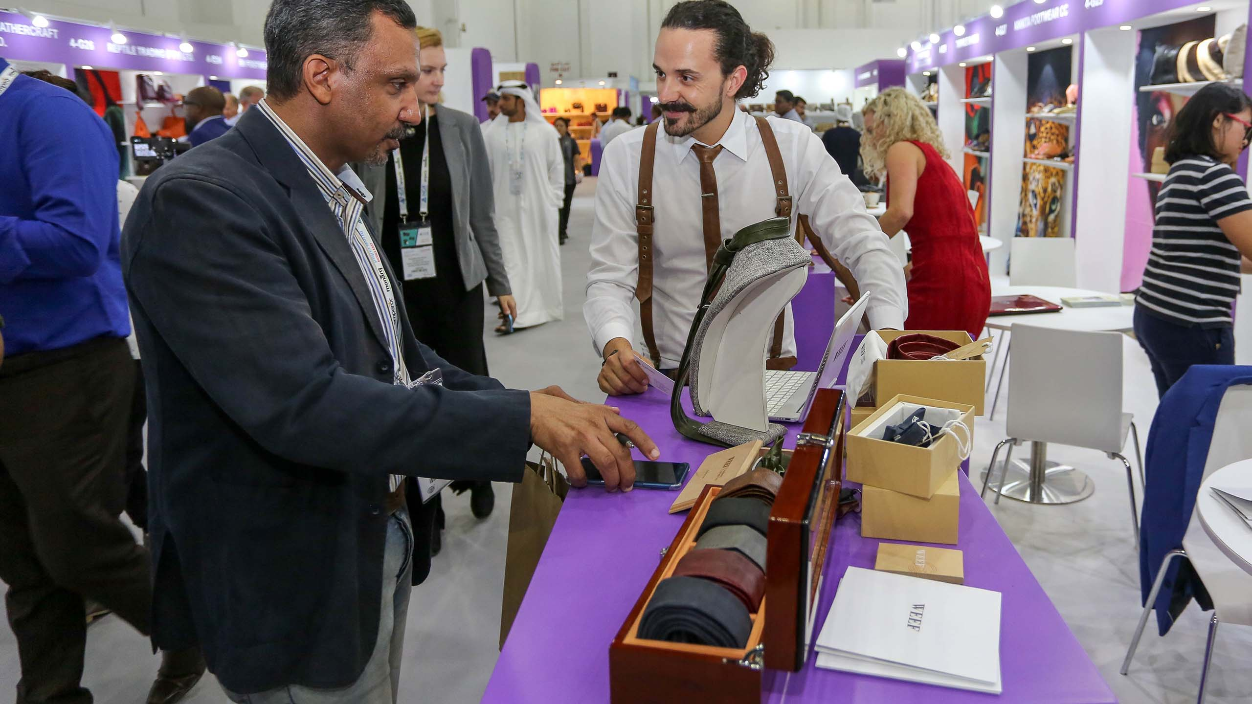 Leatherworld Middle East - Wholesale trade