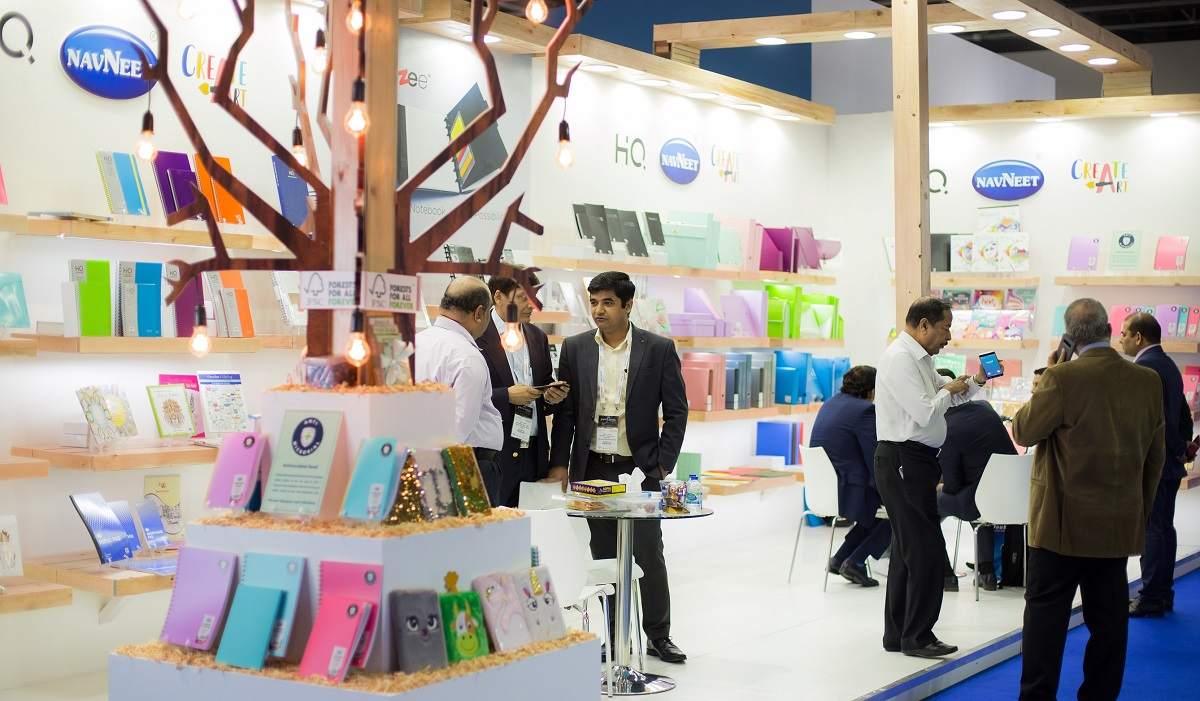 Exhibitors at Paperworld Middle East